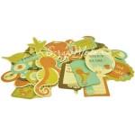 Высечки Collectables Rock Pool, 58 шт., Kaiser Craft, VT000572