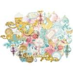 Высечки Collectables Christmas Wishes, от 20x100 мм., 45 шт., Kaiser Craft, VT000603
