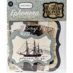 Высечки Old World Travel by Carina Gardner, от 30x100 мм., 33 шт., Carta Bella, VT000605