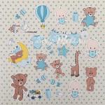 """Набор высечек """"Мой малыш"""", Mona Design, VT000607"""