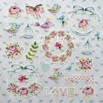 """Набор высечек """"Fancy spring"""", Mona Design, VT000613"""
