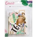 Высечки Oasis, 40 штук. В наборе 40 высечек разного дизайна, Crate Paper. VT000692