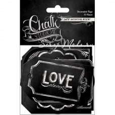 Ярлычки Chalk Studio 2, 15 штук, размер 5х9 см. My Mind's Eye. VT000693