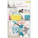 Набор высечек Carousel, в наборе 50 элементов, размер от 2 до 8 см., Crate Paper, VT000719