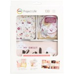 Набор карточек и украшений Value Kit Little You Girls для Project Life, American Crafts by Becky Higgins, VT000732