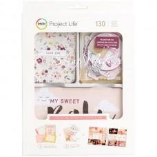 Набор карточек и украшений Value Kit Little You Girls для Project Life, American Crafts by Becky Higgins, VT000732