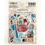 Набор высечек Городские истории, 47 элементов, Mona Design, VT000738