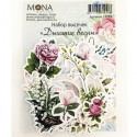 Набор высечек Дыхание весны, 42 элемента, Mona Design, VT000739