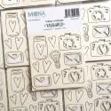 """Набор чипборда """"Улыбайся"""", 10 элементов, Mona Design, VT000741"""