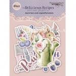 Набор высечек Delicious Recipes, 49 шт., Scrapmir, VT000765