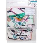 Набор высечек Maggie Holmes Flourish Accents rose gold foil, Crate Paper, VT000769