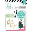 Набор карточек Hello Beautiful Embellishments от Heidi Swapp, в наборе 24 карточки, VT000875