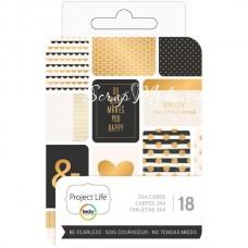 Набор карточек Project Life от Project Life. В наборе 18 карточек, American Craft, VT000878