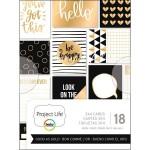 Набор карточек GOOD AS GOLD Project Life от Project Life. American Craft, VT000937
