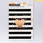 Набор картонных разделителей для планера «Чёрно‒белое настроение», 6 листов, 16×25 см. АртУзор, VT000976