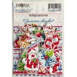Набор высечек Зимняя сказка, 36 элементов, Mona Design, VT001022