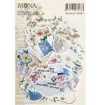 Набор высечек Французский сад, 32 элемента, Mona Design, VT001028