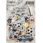 Набор высечек Hipster, 44 элемента, Mona Design, VT001030