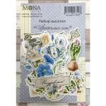 Набор высечек Цветочные сны, 38 элементов, Mona Design, VT001032