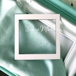 Рамочка-заготовка для шейкера Квадрат, размер 10х10см, Чип и Скрап. VT001098