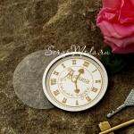 Чипборд Часы Шейкер-Алиса в стране чудес, размер круга 7,1см, Чип и Скрап. VT001162