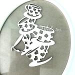Чипборд Кружки-Алиса в стране чудес, размер 10,2х7,2см, Чип и Скрап. VT001165