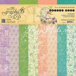 1/2 Набор двусторонней бумаги Fairie Dust, 30,5x30,5 см, 8 листов, Graphic 45, YA000060