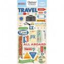 Чипборд Phrases-Passport, размер 15х30 см., Carta Bella, YA000079