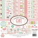 Набор двусторонней Бумаги Sweet Baby Girl, 30,5x30,5 см., Echo Park Paper YA000080