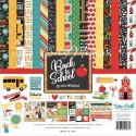 Набор двусторонней Бумаги Black to School, 30,5x30,5 см., Echo Park Paper YA000082