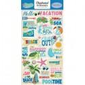 Чипборд Summer Splash-Phrases, размер 15х30 см., Carta Bella, YA000085