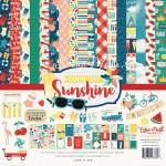 Набор двусторонней Бумаги Good Day Sunshine, 30,5x30,5 см., Echo Park Paper YA000087