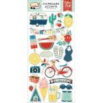 Чипборд Good Day Sunshine-Accents, размер 15х30 см., Echo Park Paper, YA000088