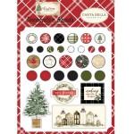 Набор Брадс в металлической оправе Christmas, Carta Bella, YA000095