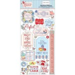 Чипборд Summer Practically Perfect-Phrases, размер 15х30 см., Carta Bella, YA000099