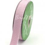 Лента твиловая Сиреневая, размер 2 см., May Arts, цена за 1 ярд, YA000122