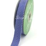 Лента твиловая Синяя, размер 2 см., May Arts, цена за 1 ярд, YA000127