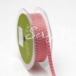 Лента твиловая узкая Красная, размер 0,6 см., May Arts, цена за 1 ярд, YA000131