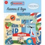 Высечки Passport. 33 шт., размер: от 4 до 10 см., Carta Bella, YA000185
