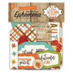 Высечки A perfect Autumn-Frame&Tags, 33 шт., размер: от 4 до 10 см., Echo Park, YA000188