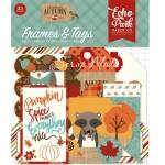 Высечки Celebrate Autumn-Frame&Tags, 33 шт., размер: от 4 до 10 см., Echo Park, YA000191