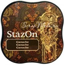 "Штемпельная подушечка для штампинга ""StazOn"", цвет Ganache, размер 55х55 мм, Tsukineko. YA000232"